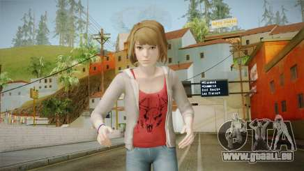 Life Is Strange - Max Caulfield Red Shirt v2 für GTA San Andreas