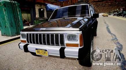 Jeep Cherokee 1992 pour GTA 4