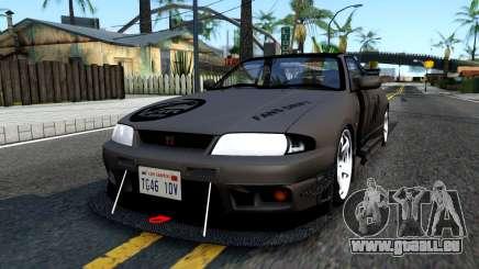 Nissan Skyline GT-R33 Fans Drift pour GTA San Andreas