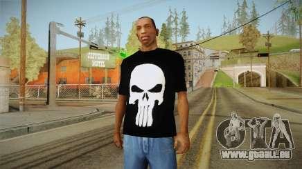 Crâne de t-shirt pour GTA San Andreas