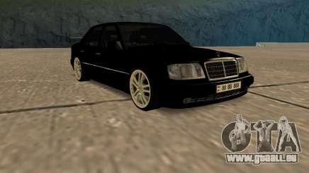 Mersedes-Benz E500 W124 Armenia pour GTA San Andreas