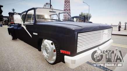 Chevrolet Silverado 3500 Street pour GTA 4