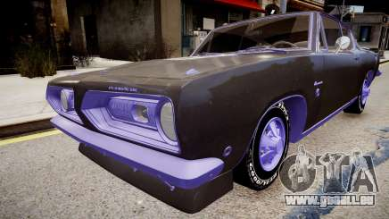 Plymouth Barracuda Formula S pour GTA 4
