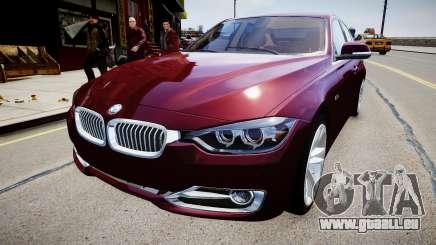 BMW 335i 2013 pour GTA 4