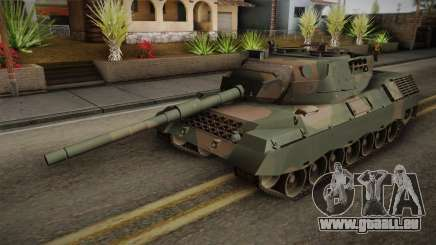 Leopard 1A5 Brazilian Army pour GTA San Andreas