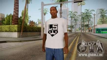T-shirt blanc de la marque avec W. C. Broyeurs pour GTA San Andreas