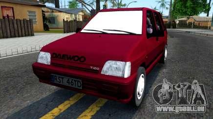 Daewoo Tico SX UZB EXCLUSIVE pour GTA San Andreas