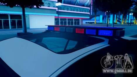 New police lights (For Modders) für GTA San Andreas