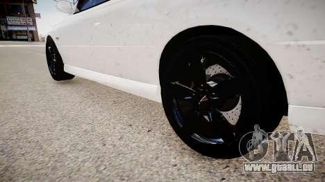 Pontiac GTO pour GTA 4 Vue arrière
