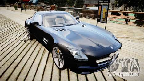 Mercedes-Benz SLS63 AMG pour GTA 4 est un droit