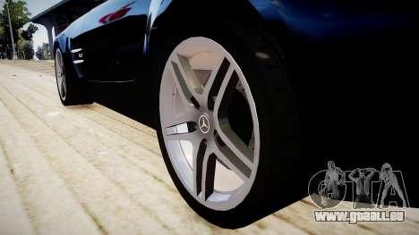 Mercedes-Benz SLS63 AMG pour GTA 4 Vue arrière