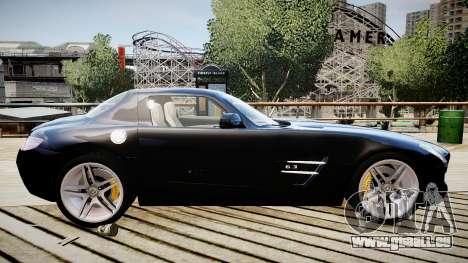 Mercedes-Benz SLS63 AMG pour GTA 4 est une gauche