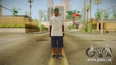 Franklin Ovoxo pour GTA San Andreas deuxième écran
