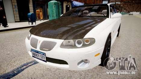 Pontiac GTO pour GTA 4 est un droit