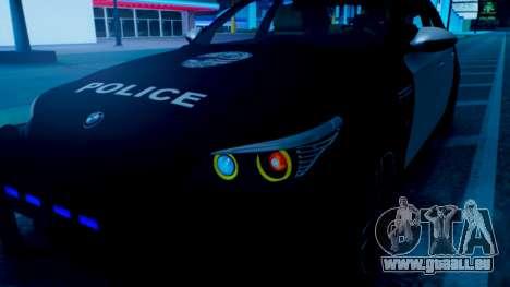 New police lights (For Modders) für GTA San Andreas zweiten Screenshot