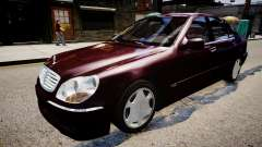 Mercedes-Benz S600 Special Edition für GTA 4