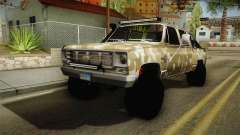 Chevrolet Silverado 1978 4x4 pour GTA San Andreas