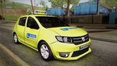 Dacia Sandero 2016 TOP SPEED pour GTA San Andreas