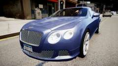 Bentley Continental GT 2011 [EPM] v1.0 für GTA 4