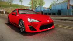 Toyota GT86 2012 Asuka Langley Itasha für GTA San Andreas