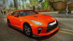 Nissan GT-R Premium 2017 für GTA San Andreas