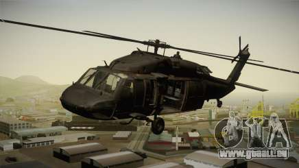 CoD 4: MW - UH-60 Blackhawk US Army Remastered pour GTA San Andreas