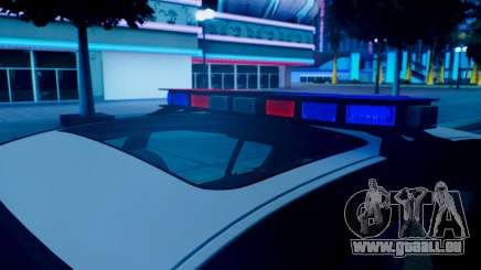 New police lights (For Modders) pour GTA San Andreas