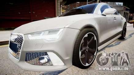 Audi RS7 2015 pour GTA 4