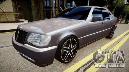 Mercedes-Benz S70 für GTA 4