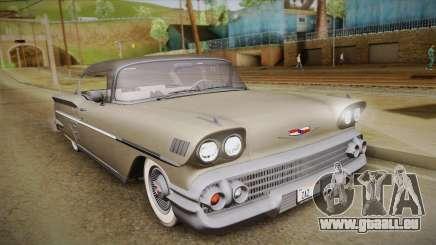 Chevrolet Impala Sport Coupe V8 1958 HQLM für GTA San Andreas