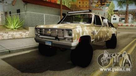 Chevrolet Silverado 1978 4x4 für GTA San Andreas