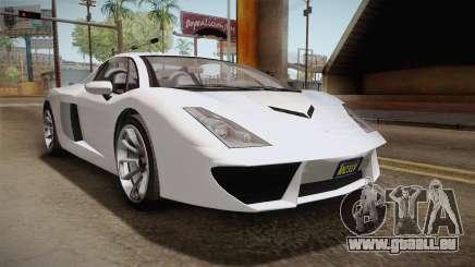 GTA 5 Pegassi Vacca 9F Roadster (Coupe) für GTA San Andreas