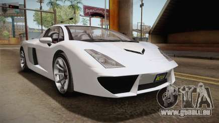 GTA 5 Pegassi Vacca 9F Roadster (Coupé) pour GTA San Andreas