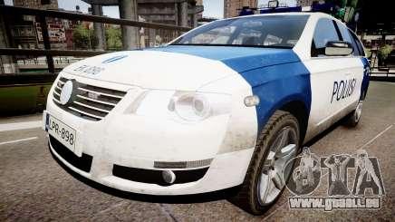 Finnish Police Volkswagen Passat (Poliisi) pour GTA 4