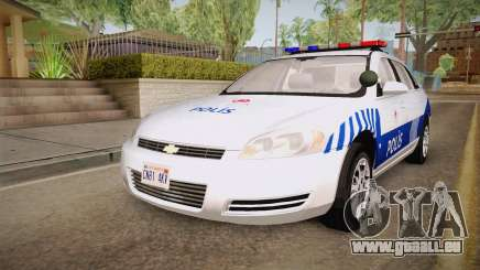 Chevrolet Impala Turkish Police für GTA San Andreas