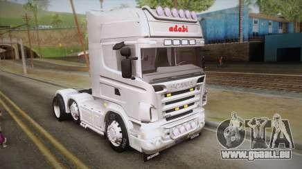 Scania R620 White Adabi für GTA San Andreas