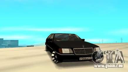 Mercedes-Benz 500SE W140 für GTA San Andreas