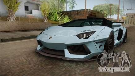 Lamborghini Aventador LP700-4 Roadster 2013 v2 für GTA San Andreas