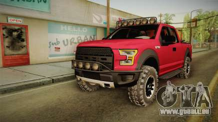 Ford F-150 Raptor 2017 Beta pour GTA San Andreas