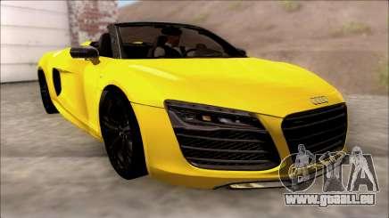 Audi R8 Spyder 5.2 V10 Plus pour GTA San Andreas