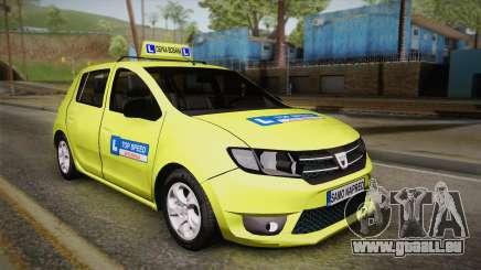 Dacia Sandero 2016 TOP SPEED für GTA San Andreas