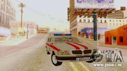 Volga 3110 pour GTA San Andreas