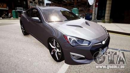 Hyundai Genesis Coupe13 ARAS pour GTA 4