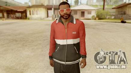 GTA 5 Franklin Jacket and Tracker Pant v1 pour GTA San Andreas
