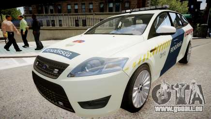 Hungarian Ford Police Car pour GTA 4