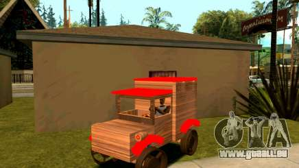 Wooden Toy Truck pour GTA San Andreas