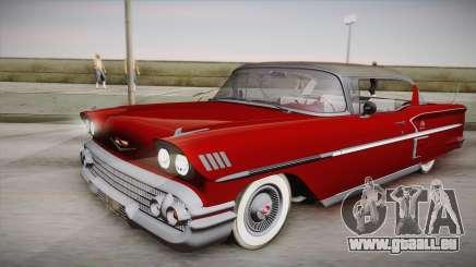 Chevrolet Impala Sport Coupe V8 1958 IVF für GTA San Andreas