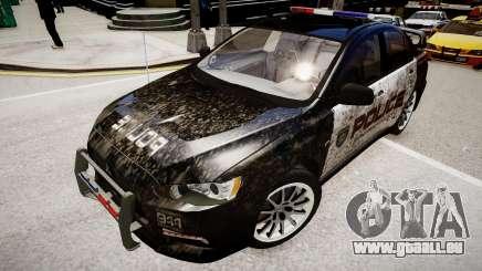 Mitsubishi Evo-IX Cop für GTA 4