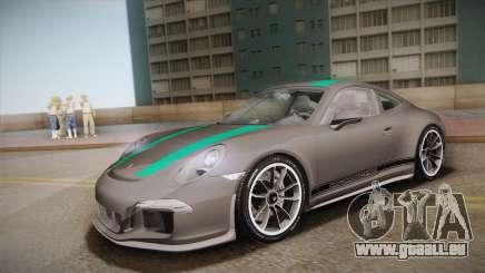 Porsche 911 R (991) 2017 v1.0 Green pour GTA San Andreas