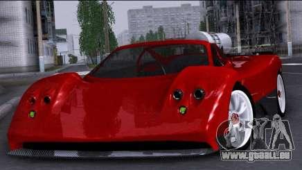 Pagani Zonda Revolucion 2016 pour GTA San Andreas